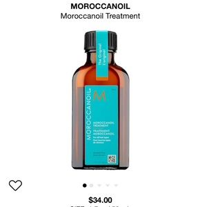 Moroccan oil treatment hair travel size